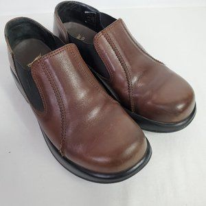 Dansko Brown Leather Comfort Shoes Clogs Loafers
